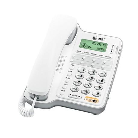 CL2909 TELEFONO ALAMBRICO ATT ALTAVOZ, ID, SECRETARIAL BLANCO