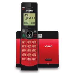 CSR5119-16 TELEFONO INALAMBRICO VTECH ROJO DECT 6.0 ID Y ALTAVOZ