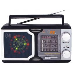 R-14 RADIO QFX CON LUCES DISCO AM/FM/TV/SW1-SW9 12 BANDAS
