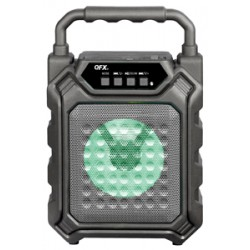 PBX-2 BAFLE AMPLIFICADO QFX 4 W RECARGABLE, BLUETOOTH USB/SD/AUX/FM