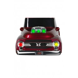 BT-1956 BOCINA PORTATIL TIPO PICK UP 1956 QFX, BLUETOOTH, TWS, USB, FM, RECARGABLE