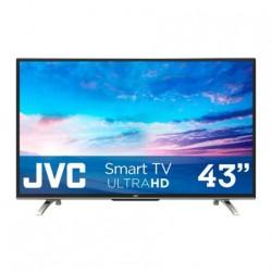 SI43US PANTALLA JVC 43 PULGADAS 4K, SMART, ALTA DEFINICION 2 HDMI, 1 USB, WI-FI